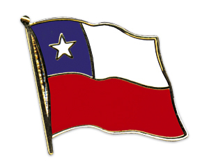 Flaggenpin Chile